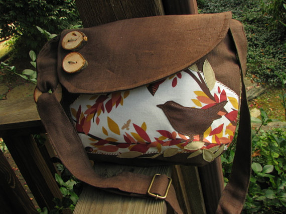 Purses with a glimpse of nature by LBArtworks