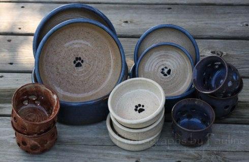 Pet Dishes and Luminaries