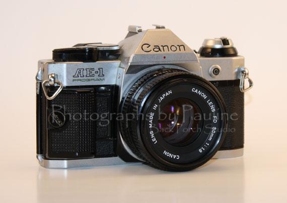 My first camera.