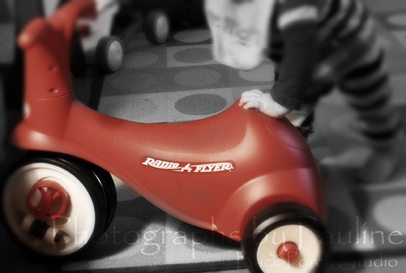 And a Radio Flyer