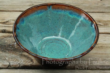 This is one of my favorite combinations - turquoise and brown. The turquoise, however, can be unreliable.